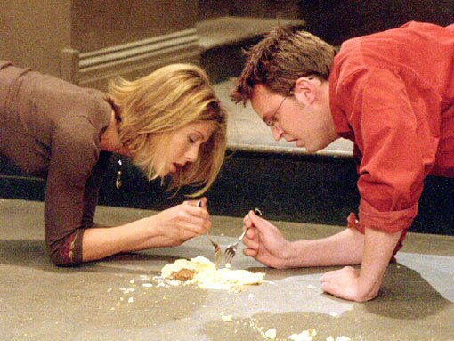 Image result for rachel and chandler